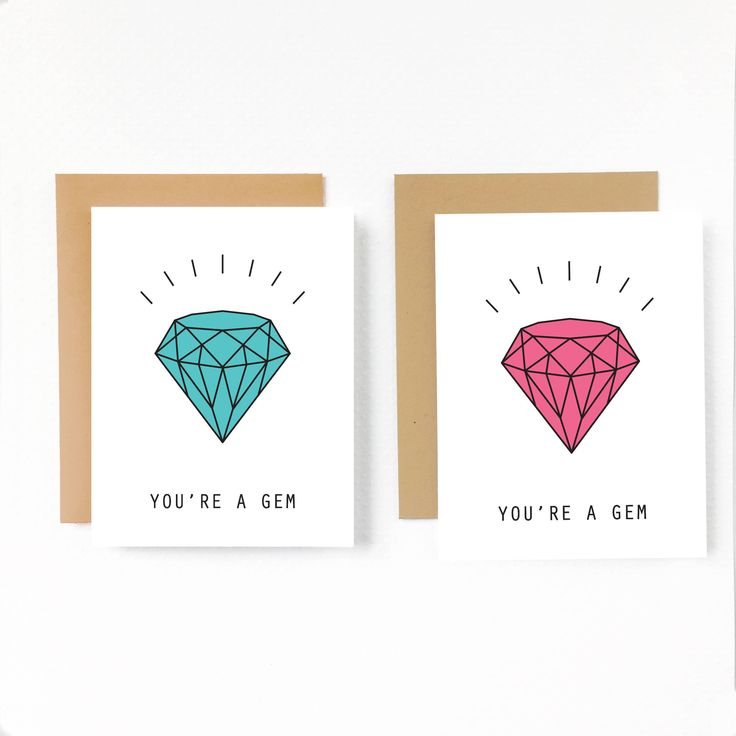 Excited to share the latest addition to my #etsy shop: YOU'RE a Gem,Printable Modern Valentine cards,Diamond Card for her,wife,girlfriend,mom,Best friend,Galentine,Mothers day,Anniversary,DIY