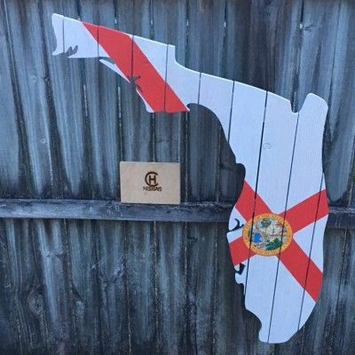 "36"" Florida State Flag design wall decor  in Altamonte Springs 