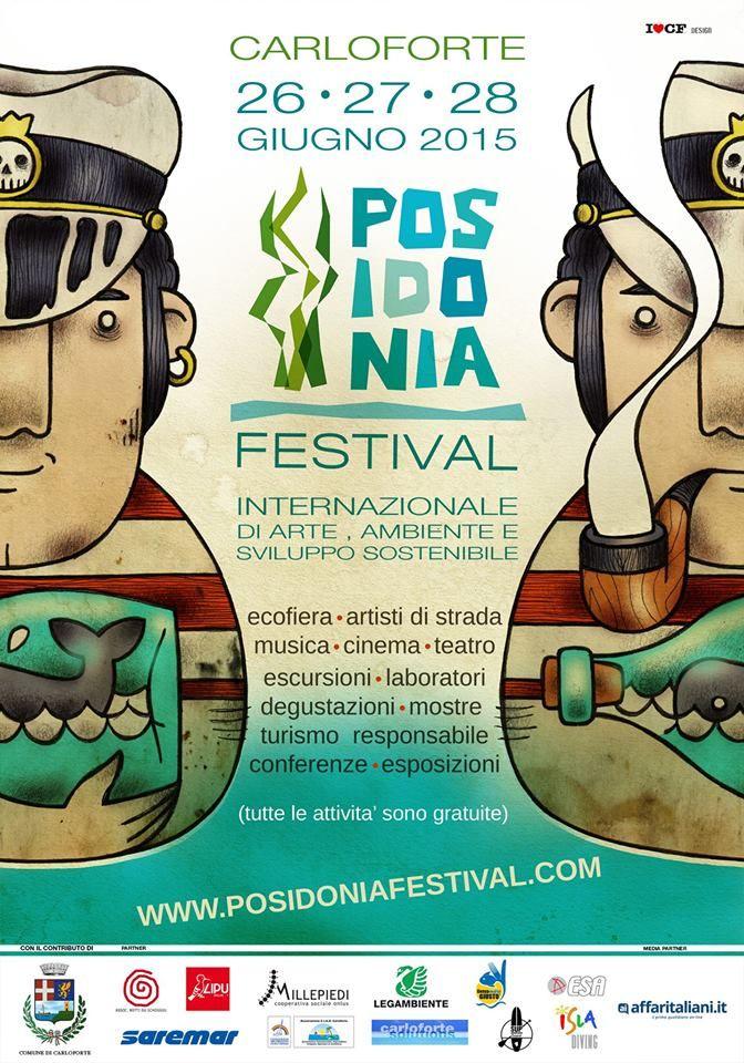 POSIDONIA FESTIVAL – CARLOFORTE – 26-27-28 GIUGNO 2015