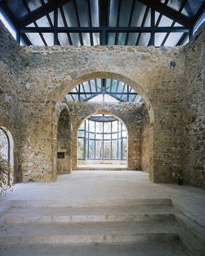 SPAZI CONSONANTI, restauro chiesa altomedievale di san donato