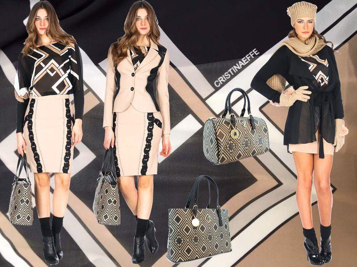 Stampe geometriche per le nostre donne più inquadrate... www.cristinaeffe.com