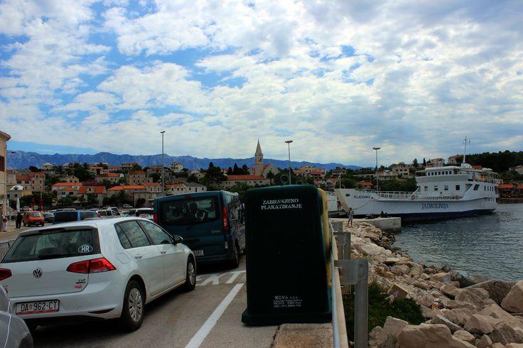 Sumartin, Croatia. Waiting for a ferry.