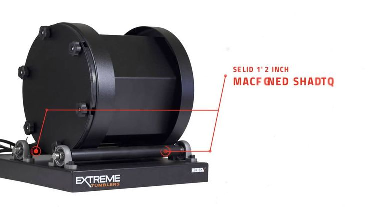 Extreme Rebel 17 Rotary Tumbler - FEATURES