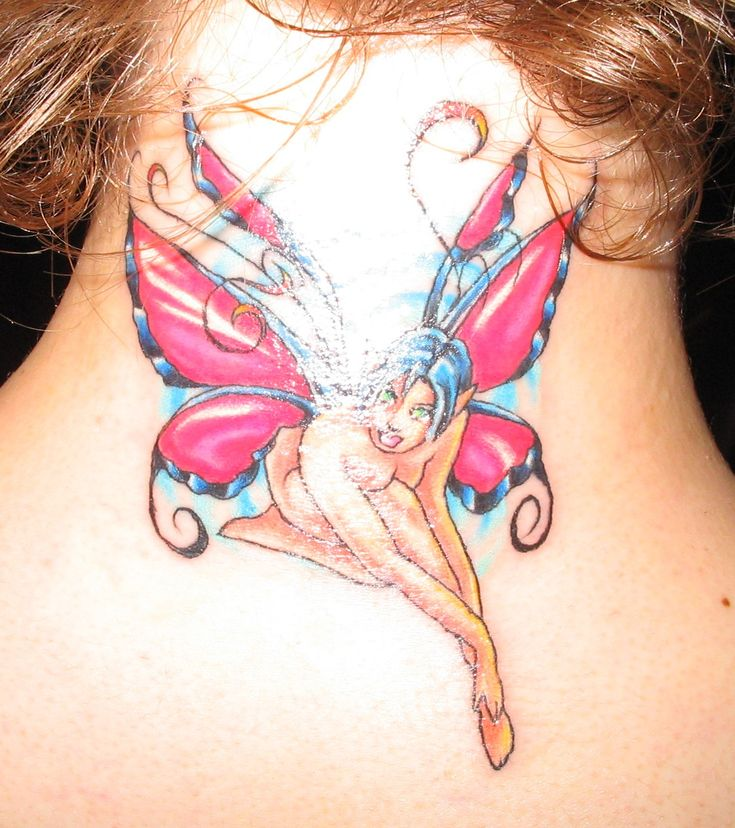 17 Best Ideas About Gothic Fairy Tattoo On Pinterest