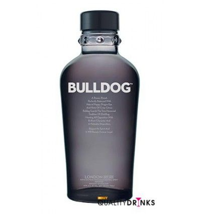 La ginebra Bulldog gin, es una ginebra premium con unos ingredientes exóticos. Es una de las ginebras con la mejor relación calidad-precio del mercado, y tiene un sabor muy original 19,95 €