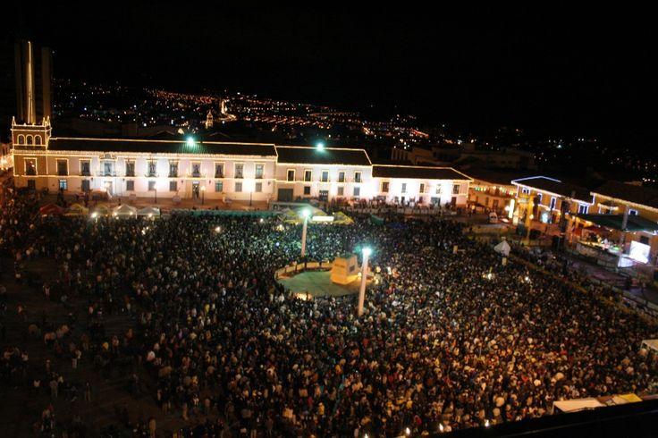 Tunja se alista para la celebración 60 del Aguinaldo Boyacense