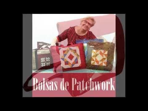 BOLSAS DO CURSO FUNDAMENTOS DO PATCHWORK /BOLSAS -PROFªANA COSENTINO