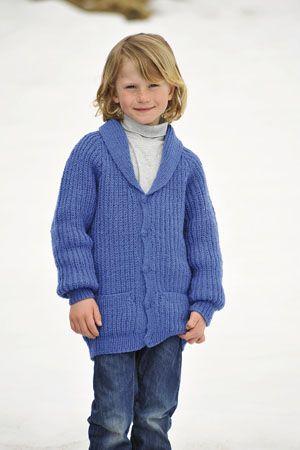 1011: Modell 23B Jakke #strikk #knit #fjells