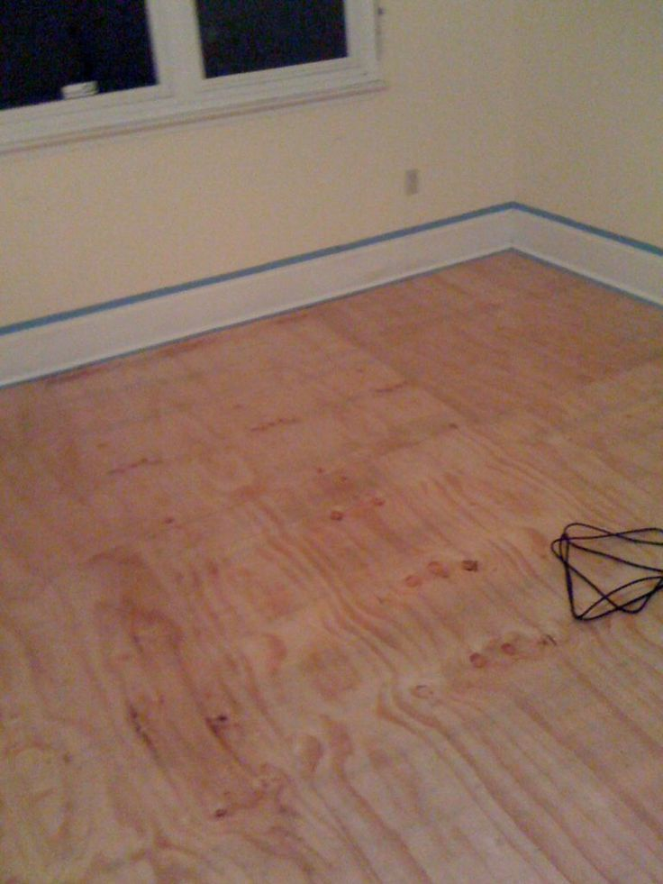 Diy Plywood Floors Stains Plywood And Floors