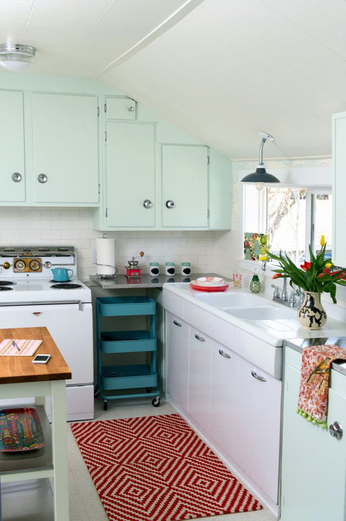 538 best a vintage kitchen images on pinterest | vintage kitchen
