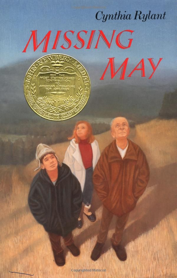 Missing May by Cynthia Rylant. 1993 Winner