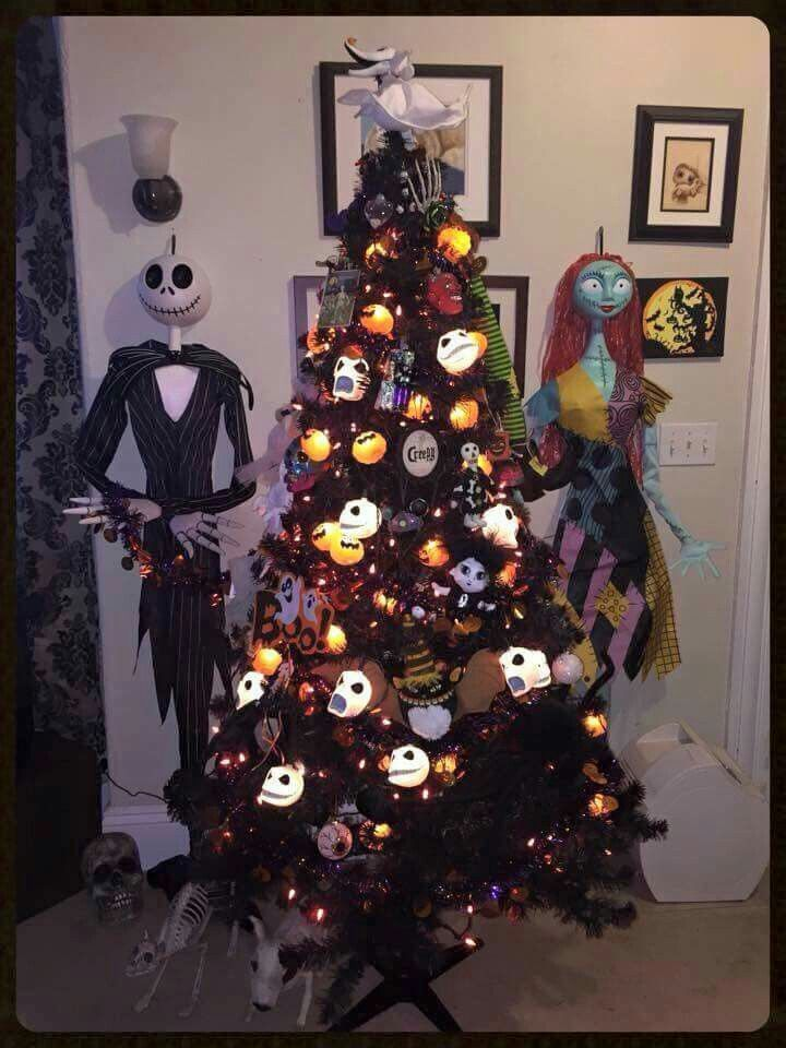 35 Best Nightmare Before Christmas Theme Tree Images On