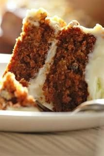 I Love Carrot Cake with nuts- no raisins