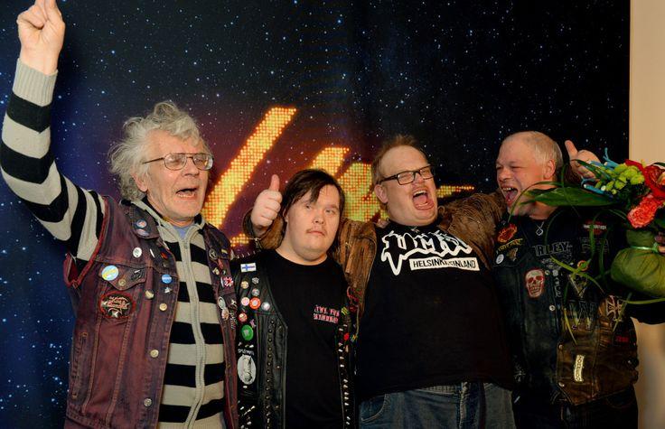Pertti Kurikan Nimipäivät win UMK in Finland!