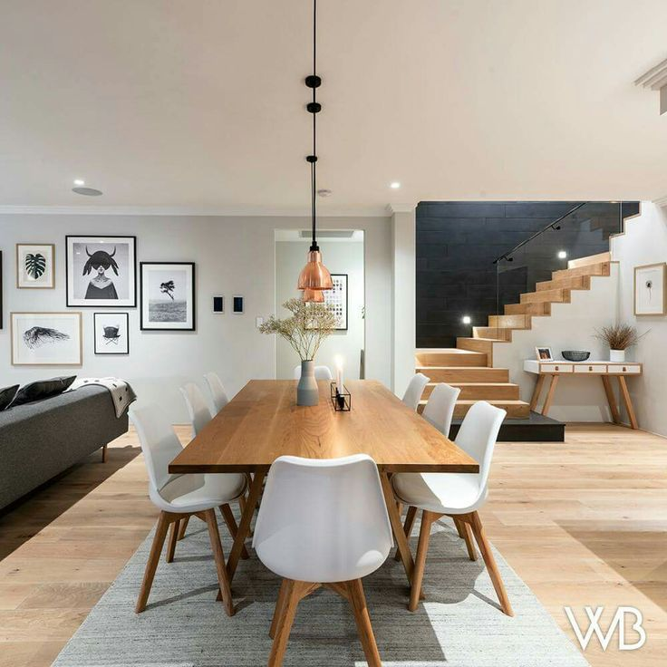 """""""of the home is the seemingly floating modern st…"""