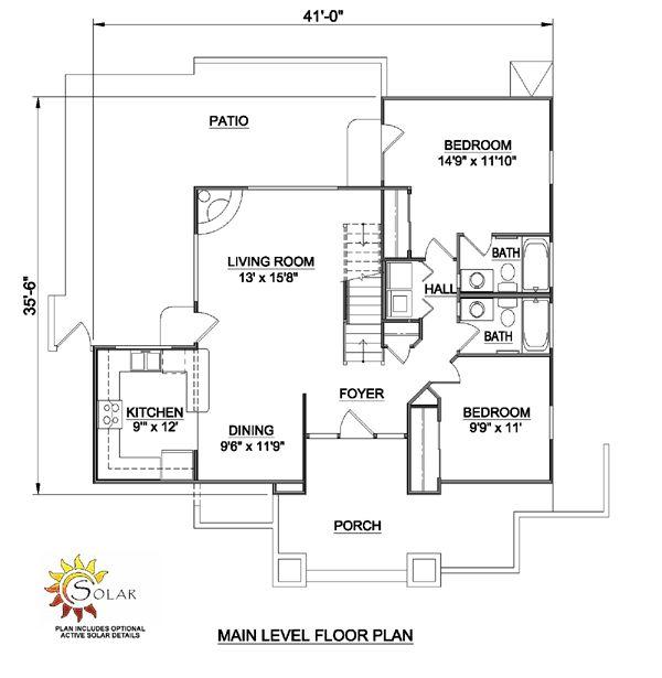 30 best two story house plans images on pinterest for Southwestern floor plans