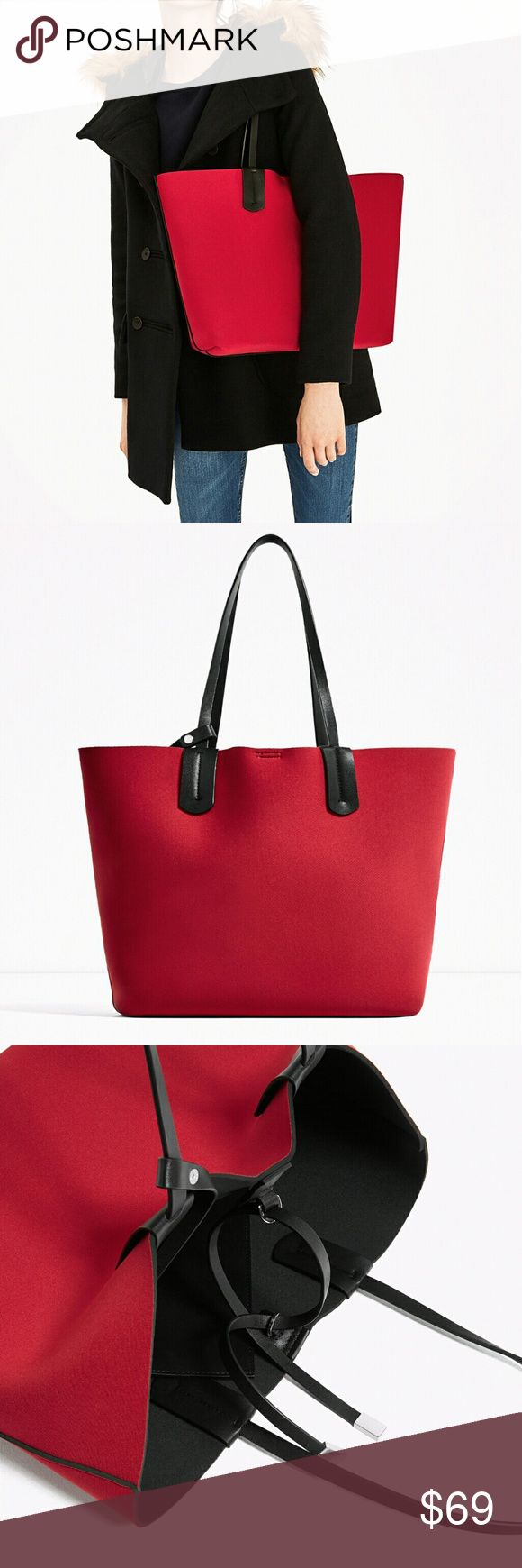 ZARA TOTE BAG BRAND NEW ZARA TOTE BAG BRAND NEW Zara Bags Totes