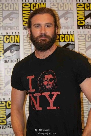 Clive Standen Viking ICE!