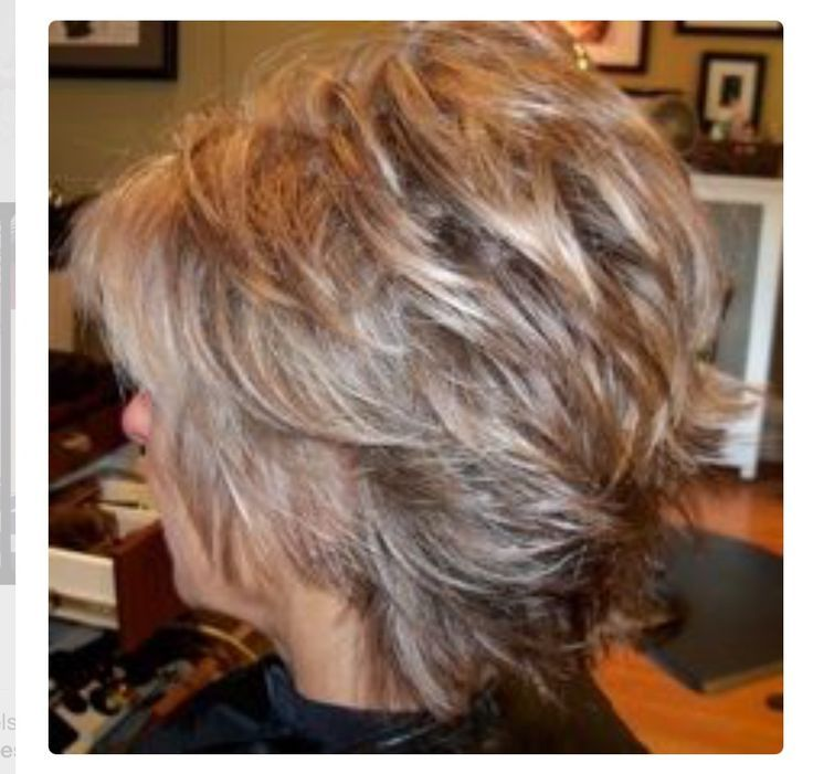 Image Result For Short Shag Front And Back View Hair