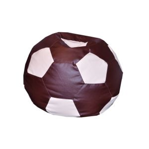 Bean Football  XXXL Size Brown + Cream
