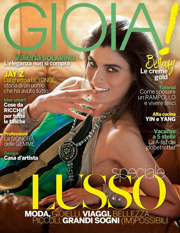 Actress @ Valeria Solarino - Gioia!, March 2015