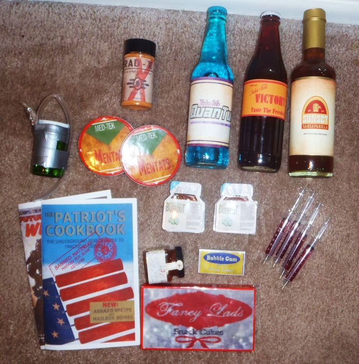 Themed Gift Box Ideas : Fallout new vegas themed gift box