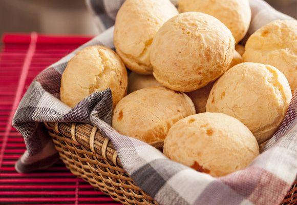 pão de queijo de quinua