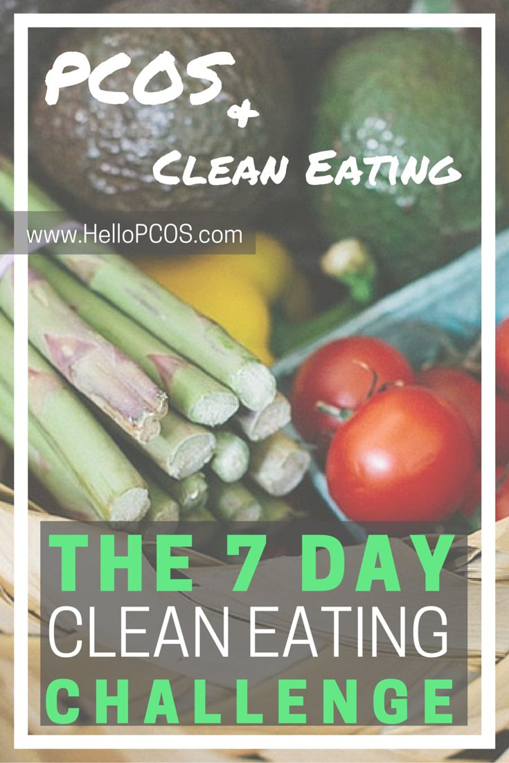 Clean eating is a great way to balance hormones and treat PCOS. Are you trying to lose weight with PCOS? Are you trying to conceive naturally? Do you want to regulate your period? Improve your insulin resistance? Tried of weight gain due to PCOS? Find out how you can eat clean to improve your PCOS here.