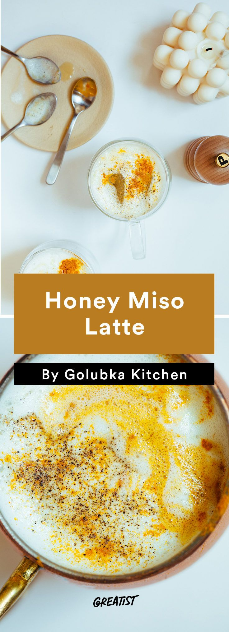 5. Honey and Miso Latte #warm #drinks #recipes http://greatist.stfi.re/eat/warm-drink-recipes-better-than-a-pumpkin-spice-latte