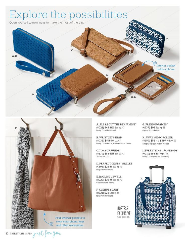 Thirty One Catalog 2016 - Spring | Summer.  Fresh new prints, styles & jewelry!  Order Online: www.leadingher.com