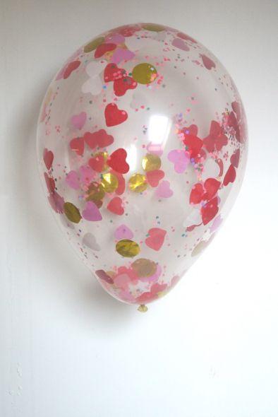 consejo airedefiestacom mete confeti en globos transparentes