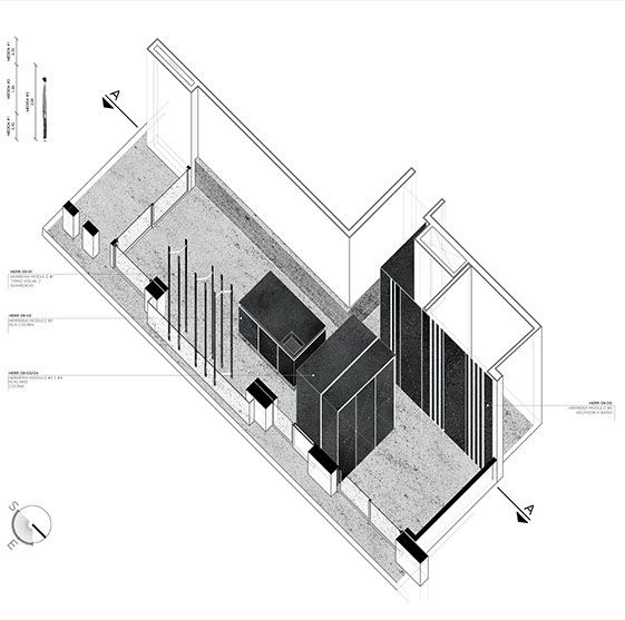 Carbono Atelier - buenos aires // Illustration&Drawing Gorriti-Architecture
