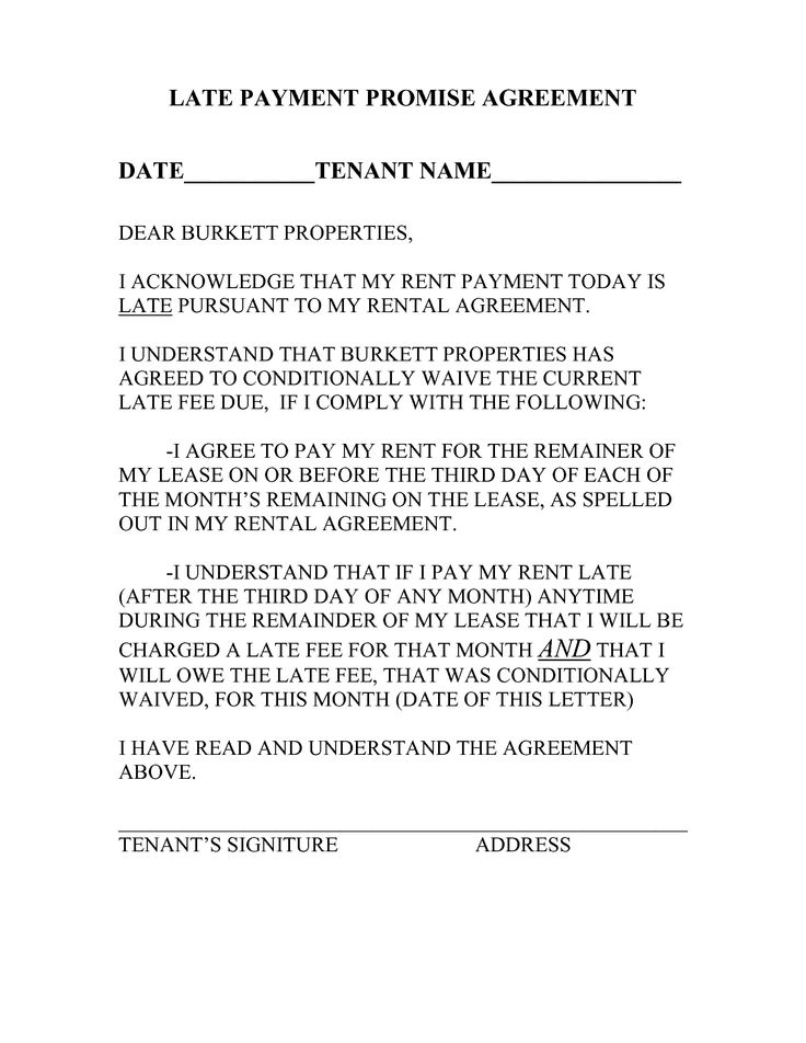 late rent payment notice letter google search