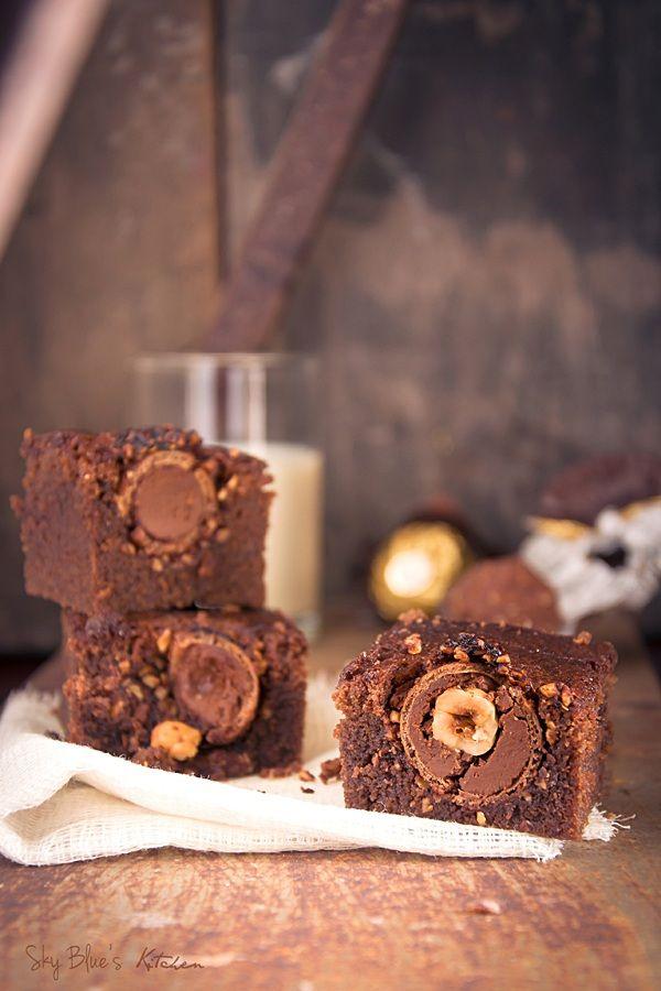 Ferrero rocher brownies - Oh wow!