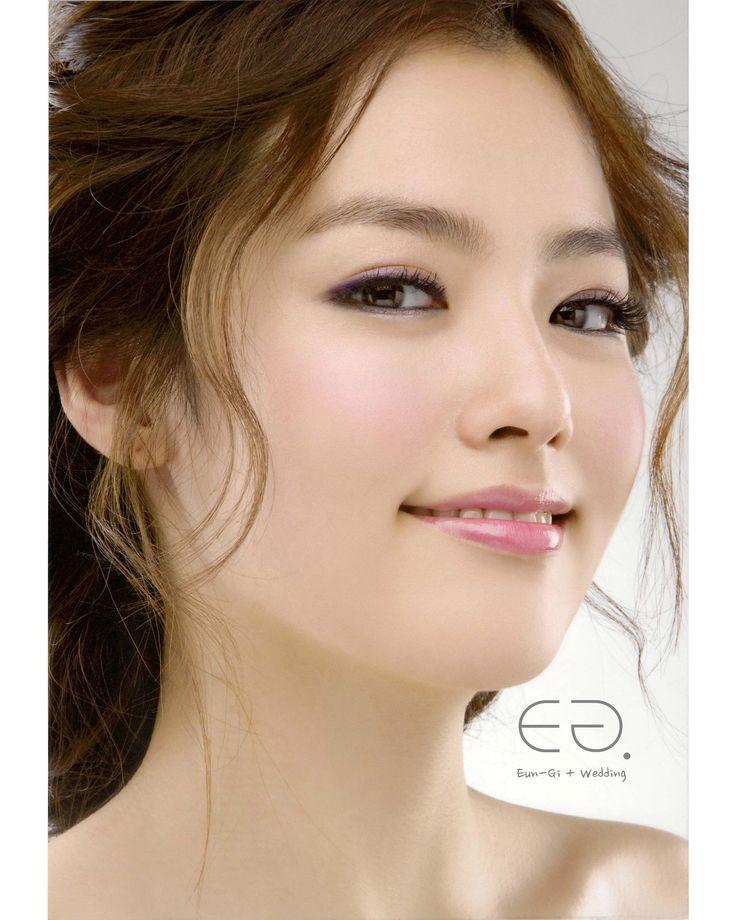 Wedding Hairstyle Korean: ♡Korean Wedding Make-up & Hairstyle