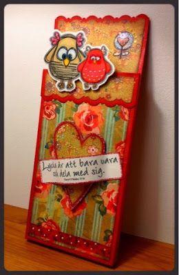 Choklad-kort till Alla Hjärtans Dag av DT-Linda S  http://blog.pysseldags.com/2014/02/choklad-kort-till-alla-hjartans-dag.html http://shop.pysseldags.se