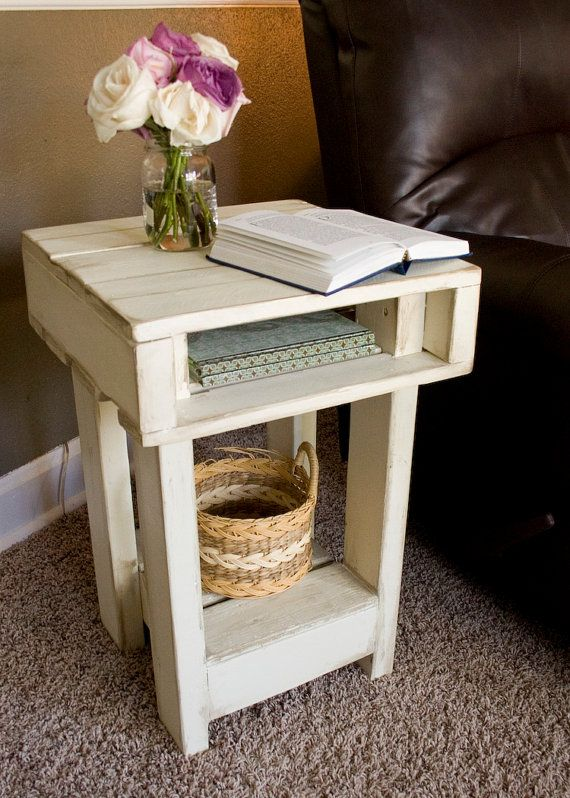 1000 ideas about rustic nightstand on pinterest diy for Rustic nightstand ideas