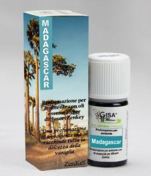 Madagascar - Profumazione alla vaniglia ideata appositamente per Zenkey il diffusore ad ultrasuoni USB per Auto o PC