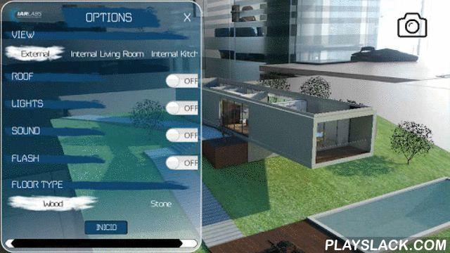 Inmo AR  Android App - playslack.com , Inmo IAR es la primera aplicación de Realidad Aumentada con calidad de fotorealismo diseñada para transmitir nuevas experiencias en la presentación de viviendas. Para utilizar la Aplicación, solo tienes que imprimir el marcador, colocarlo en un sitio plano, como una mesa, arrancar la aplicación y enfocar al marcador. Prepárate para disfrutar de tu futura vivienda en Realidad Aumentada y con una vista de 360º! La Aplicacion se puede hacer a medida para…