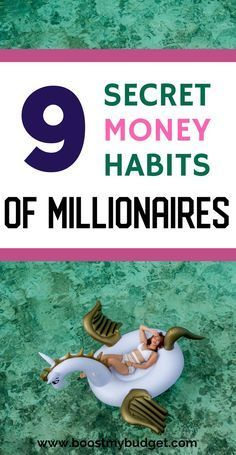 9 Surprising Money Habits of Millionaires That Will Make You Rich – Money Management