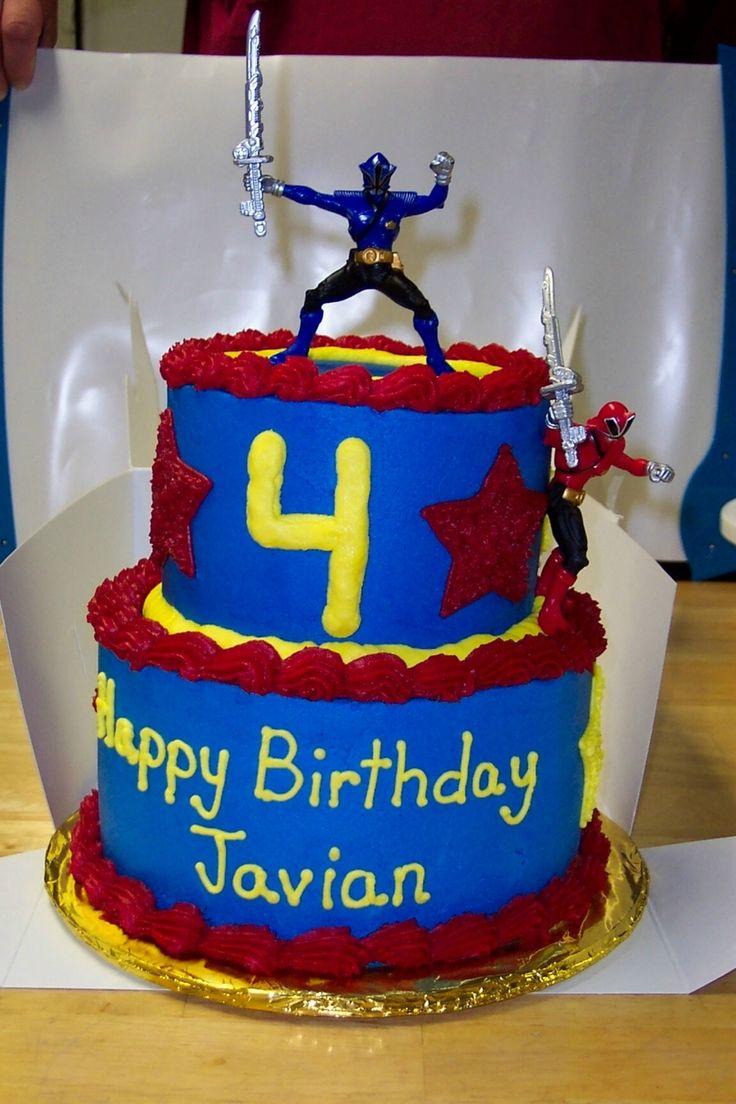 Power Rangers Cake Power Rangers Cake, chocolate cake, white chocolate bc icing.