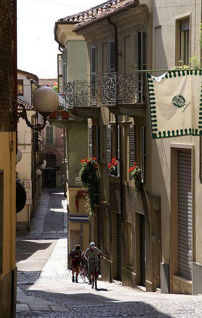Asti, Piedmont, Italy, province of Asti  Via Garetti