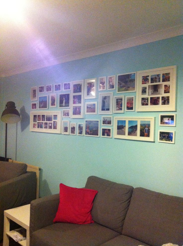 Complete photo wall