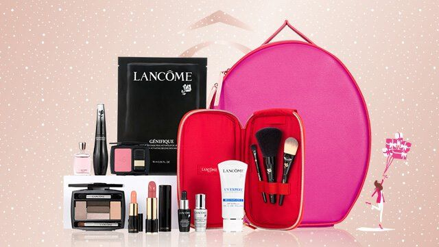 lancome holiday 2017 sets 2017 fallwinter beauty pinterest makeup collection holidays 2017 and makeup