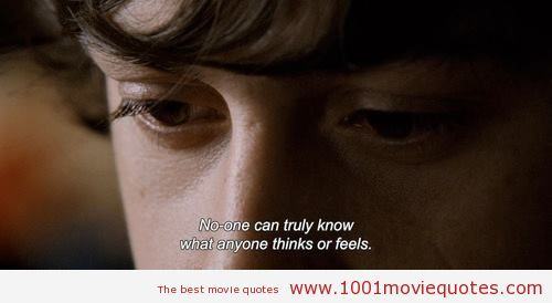 Submarine (2010) - movie quote