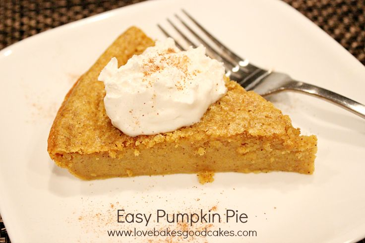 Easy Pumpkin Pie Recipes — Dishmaps