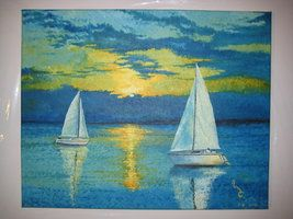 #boats #landscape #nature #sea #sunset Contact: RomCGallery@gmail.com