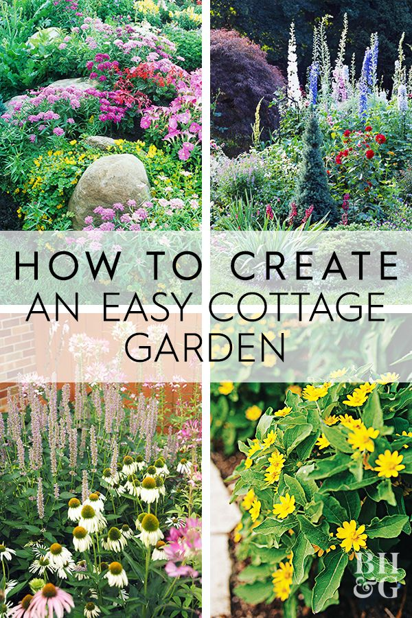 6 Steps To A No Work Cottage Garden In 2020 English Cottage