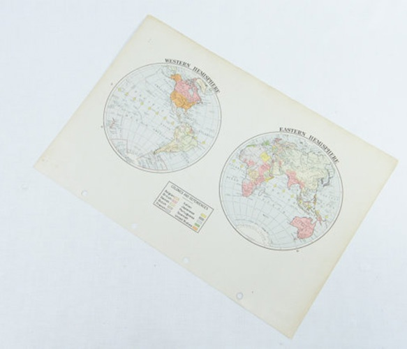 I love maps! These ones are a little different too. only $14