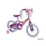 Huffy Disney Princess Bike (Shimmer Pink/Glitter Grape, Medium/16-Inch). Taryn got this for Christmas. She's doing great on her big girl bike!